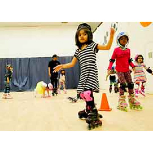 Inline Skating - Level I (6-8 yrs): Sundays 9:10 - 9:55 am