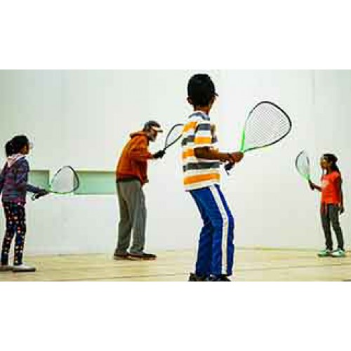 Racquetball I - Beg (10-13 yrs): Sundays 12:00 - 12:45 pm