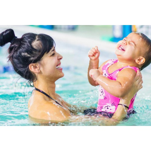 Parent/Child Swim (6 mo-4 yrs): Fridays 6:45 - 7:15 pm