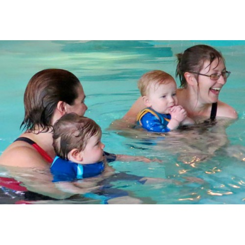 Parent/Child Swim (6 mo-4 yrs): Mondays 11:00 - 11:30 am