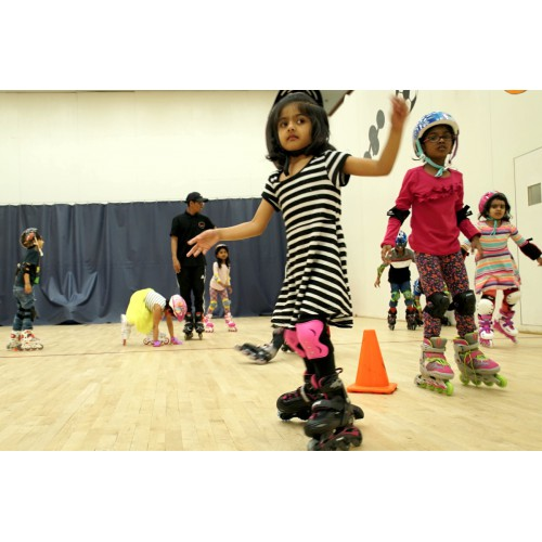 Inline Skating - Level II (7-9 yrs): Saturdays 8:15 - 9:00 am
