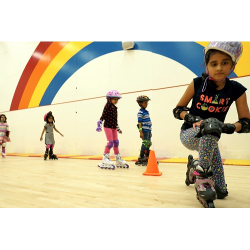 Inline Skating - Level I (6-8 yrs): Mondays 4:50 - 5:35 pm