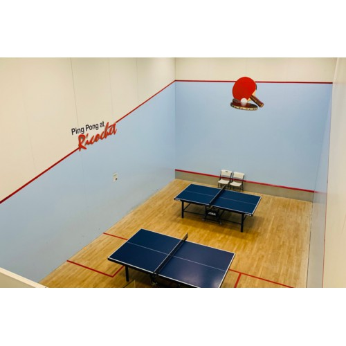 Table Tennis Beginners (8-12 yrs): Mondays 4:30 - 5:15 pm
