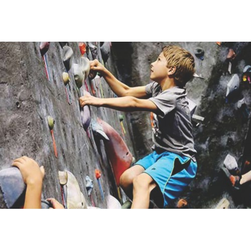 Rock Climbing for Kids (5-8 yrs): Saturdays 10:30 - 11:00 am