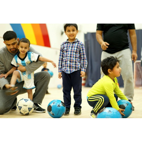 Early Bird Sports Club (2.5-4 yrs): Fridays 5:20 - 5:50 pm