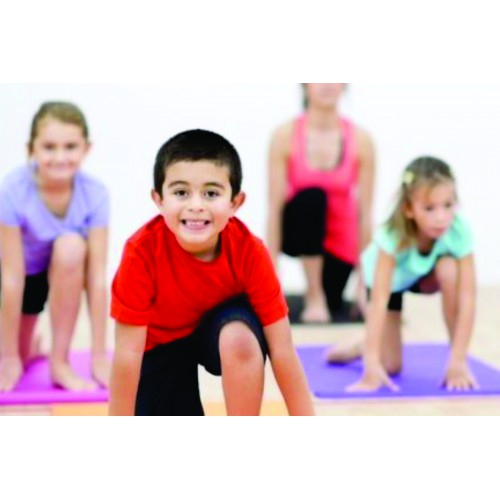 Toddler Yoga (2.5-4 yrs): Saturdays 9:55 - 10:25 am