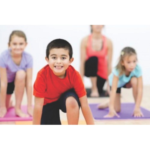 Toddler Yoga (2.5-4 yrs): Mondays 9:30 - 10:00 am